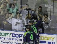 Banfield breaks out, Ice Flyers surge forward to sweep Peoria