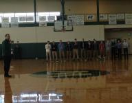 Williamston basketball team gets big sendoff before state semifinal game