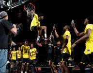 VIDEO: Watch Josh Jackson dunk over nation's tallest girls basketball player