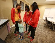 GALLERY: McDonald's All Americans visit Ronald McDonald House