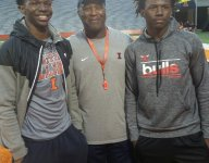 Lovie Smith lands two WR commits in one day for Illinois