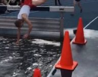 VIDEO: The steeplechase fail to end all steeplechase fails