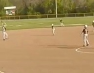 VIDEO: 8-year-old Cole Evans pulls off picturesque triple play