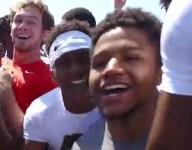 VIDEO: When 40-yard dash turns into Running Man Challenge at Nike Opening Regional