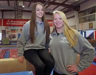 Mahopac gymnastics' dynamic duo pushed each other