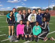 Roberson girls track showing early promise