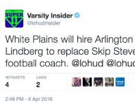 White Plains to name Mike Lindberg new football coach