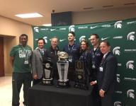 Dantonio: Michigan State won't practice at Ford Field
