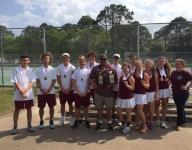 PHS tennis seals school's first state tourney appearance
