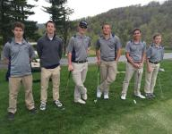 Veritas golf wins dual match