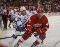 Luke Glendening plays key role in Red Wings' show