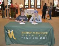 Bishop Manogue athletes sign letters of intent