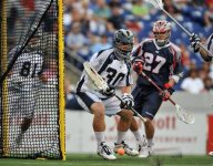 MLL goalie coaches HS team in conference game, then starts in goal for Bayhawks