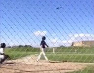 VIDEO: Eighth-grader combines bat flip with running man for ultimate meme experience