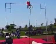 Kansas City's Chris Nilsen sets American high school pole vault record