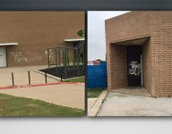 Five teens, including athletes, arrested for graffiti at rival high school's athletic facility