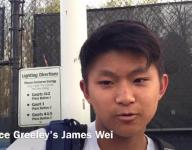 Wei looks on positive side of Greeley semifinal loss to Trinity
