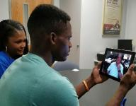 Maleik Gray, JaCoby Stevens FaceTime with Nick Saban