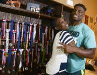 Moms in Sports: Johnson breaks cycle of abuse as mom