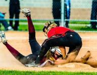 Portland softball sweeps Eaton Rapids in doubleheader