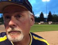 Grand Ledge softball coach discusses comeback win