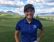 Dixie's Gracie Richens and Desert Hills' Kyla Smith tied for lead at Soldier Hollow