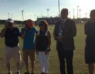Sommer receives FHSAA Honor of Distinction Award