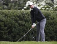 Cameron Young and Paul McBride are in stride at Winged Foot