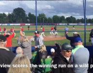 Westview scores the winning run vs. West Salem