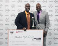 Donnell takes home Jeff Sommer Coach of the Year award