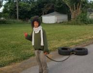 Indiana teen rewarded with premier training experience following photo showcasing homemade tire pull