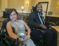 Eric LeGrand takes girl to prom: 'All about the smile on her face'