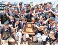 High schools are getting pro-style hats and shirts to commemorate state titles