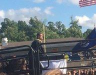 Jim Harbaugh spoke at Saline High graduation hours after being at Va. satellite camp