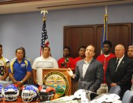 Conn. schools land $21,000 in new football equipment from Youth Violence Prevention Fund