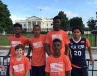 Players from NY based AAU team honored at the White House for gun violence awareness