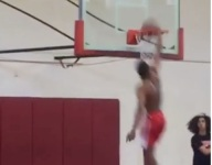 VIDEO: Cassius Stanley's latest preposterous slam includes a behind-the-back cradle off a backboard alley oop