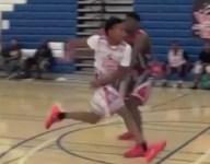 VIDEO: Class of 2018 PG Brandon Williams pulls off mind melting assist at Pangos Camp