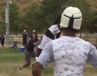 VIDEO: Keyshawn Johnson Jr. can make plays just like dear old Dad
