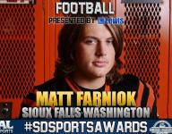 #SDSportsAwards, football: Matt Farniok a rare spotlight figure