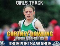 #SDSportsAwards, girls track: Cortney Dowling kept improving for Pierre