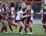 Frey's early goal sparks Bucs to state soccer title