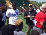 Ohio State assistant Kerry Coombs fires up DBs at SMSB