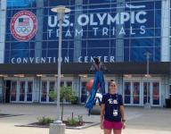 Lourdes grad Wegescheide competes in Olympic swim trials Monday