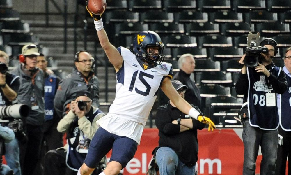David Sills played as a wide receiver as a West Virginia freshman before transferring to pursue a future as a quarterback (Photo: Joe Camporeale/USA TODAY Sports)