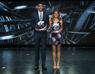 Jayson Tatum and Sydney McLaughlin take home Gatorade Athlete of the Year honors