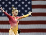 Iowa gymnast on the cusp of Olympic dream after career marred by injuries
