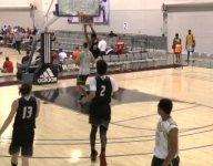 VIDEO: Class of 2017 hoops star Isaiah Stokes rips down rim on massive Adidas Uprising slam