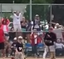 This fan at the Nebraska 9U youth baseball championships was way too excited