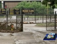 Kentucky school loses football practice and field to extreme flooding